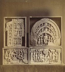 Buddhist sculpture pieces from Jamal-Garhi. 10031000
